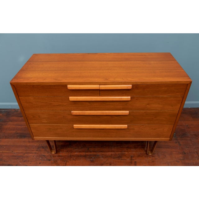1950s Edward Wormley Chest of Drawers for Dunbar For Sale - Image 5 of 11