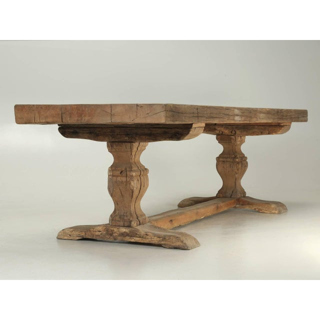 Antique French Trestle Table, Circa 300 Years Old For Sale - Image 10 of 10