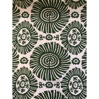 Thibaut Solis in Emerald Fabric- 4 1/2 Yards For Sale