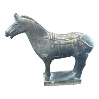 Asian Samurai Horse Decorative Figure