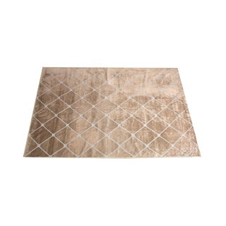 Madeline Weinrib Metallic Chenille Rug - 6' X 9' For Sale