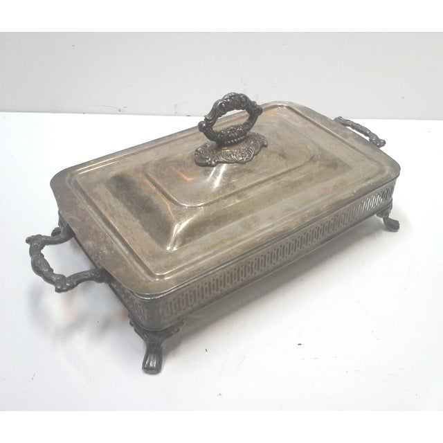 Silver-plated Ornate Baroque Lidded Serving Dish - Image 2 of 8