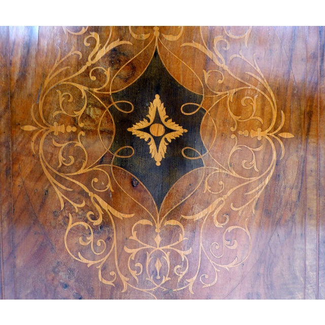 Italian Inlaid & Bronze Mount Buffet - Image 8 of 11