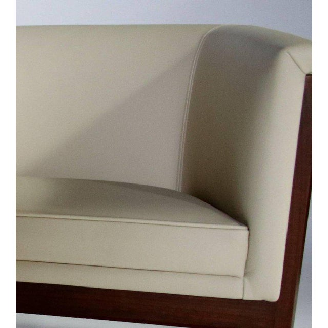 Pair of Milo Baughman Cube Club Chairs For Sale In Chicago - Image 6 of 8