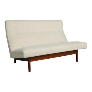 1950s Vintage Jens Risom Settee Model U-251 For Sale