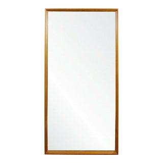 Mid Century Modern Dyrlund Teak Wall Mirror Rectangular Danish 1960s For Sale