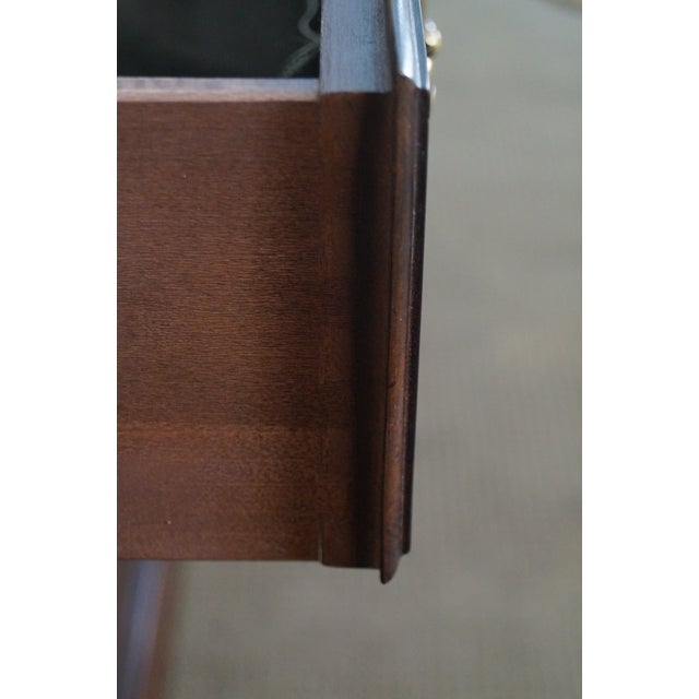 Henredon Chippendale Style Breakfront Cabinet - Image 10 of 10