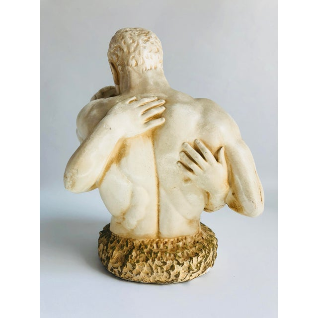 Figurative 1970s Plaster Figurines Bust For Sale - Image 3 of 7
