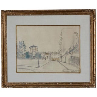 Maurice Utrillo La Place Ravignan For Sale