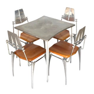 1960s Robert Josten Dining Set - Table and Chairs - 5 Pieces