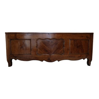 French Cherry Wood Louis XIV Coffer For Sale