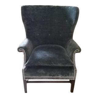 "Victoria Hagan Home Wainscott ""Wing Chair"" For Sale"