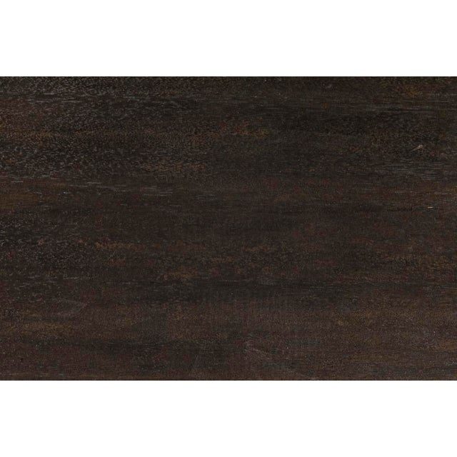 Degas Desk, ebony Walnut, desk, walnut
