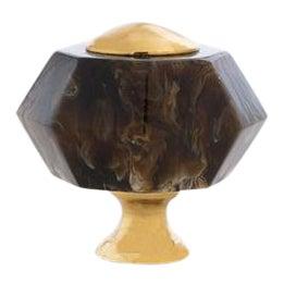Addison Weeks Edgewood Geometric Knob - Tortoise For Sale