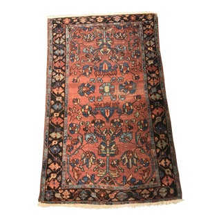 "Bellwether Rugs Antique Persian Malayer Small Area Rug - 2'6"" x 3'11"" For Sale"
