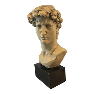 Greek Male Mounted Bust