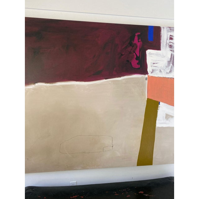 Canvas Monumental Contemporary Abstract Painting XII by William McLure For Sale - Image 7 of 8