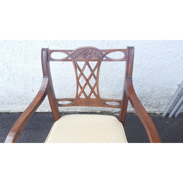 Cane Seat Armchairs - A Pair - Image 4 of 9