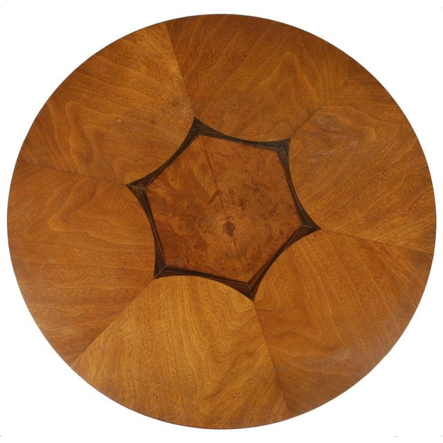 Drexel Heritage Drexel Inlaid Topped Tripod Gueridon Table For Sale - Image 4 of 7