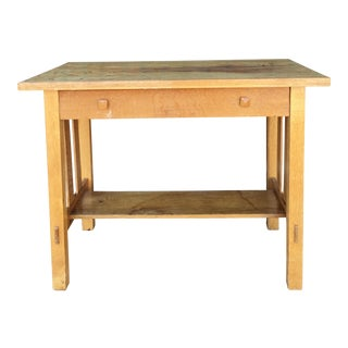 Mission Style Wood Desk For Sale