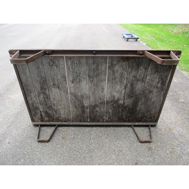 20th Century Industrial Pallet/Coffee Table For Sale - Image 4 of 12