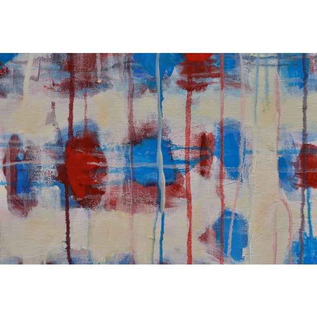 """2010s """"Borderline~Askew"""" Abstract Painting For Sale - Image 5 of 11"""