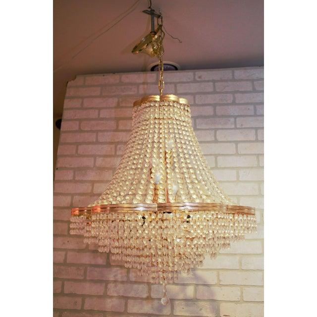Swarovski Vintage Swarovski Crystal Chandelier For Sale - Image 4 of 12