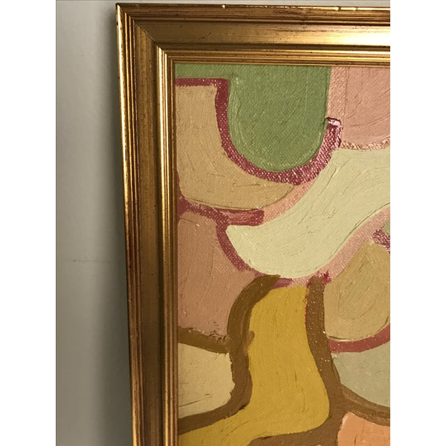 Abstract Lois Stecker Acrylic Abstract Painting For Sale - Image 3 of 6