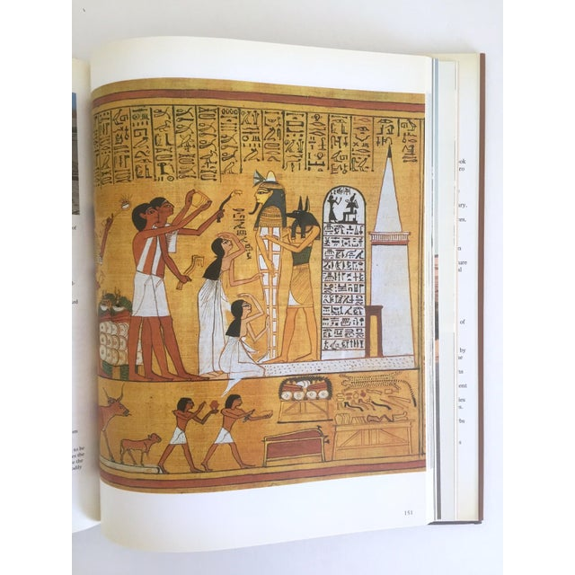 "1990s "" Ancient Egypt the Land & Its Legacy "" Vintage 1990 Cultural Arts Hardcover Book For Sale - Image 5 of 10"