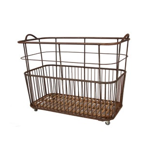 1920 Antique French Bread Trolley Preview