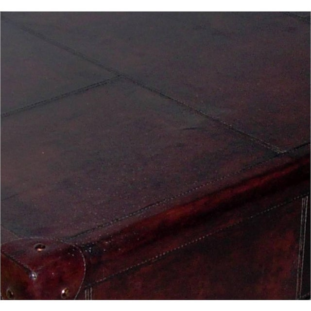 Genuine Leather Coffee Table - Image 4 of 4