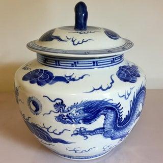Blue & White Dragon Jar Preview