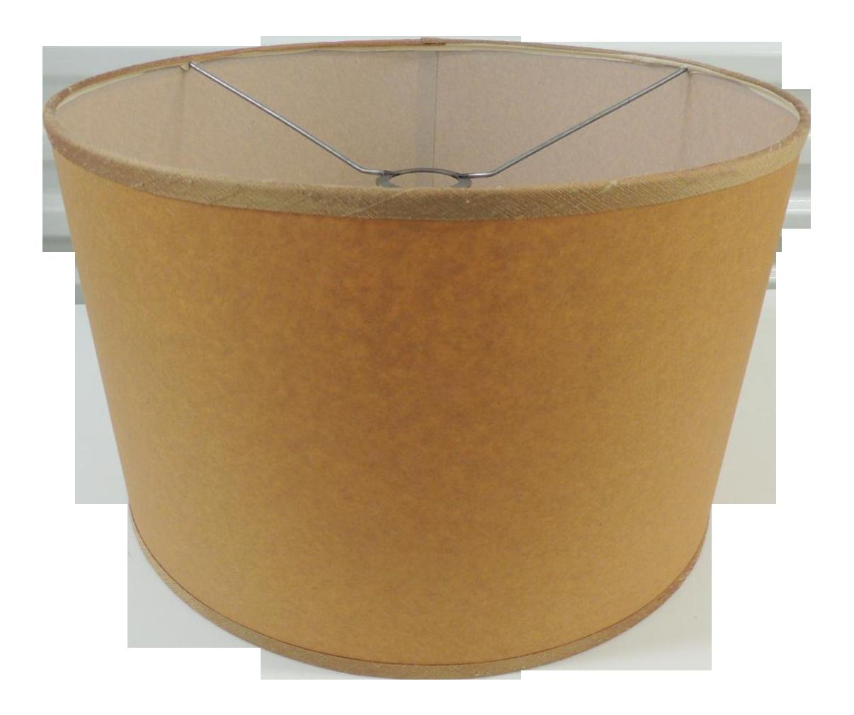 Custom Parchment Paper Round Drum Lamp Shades Chairish