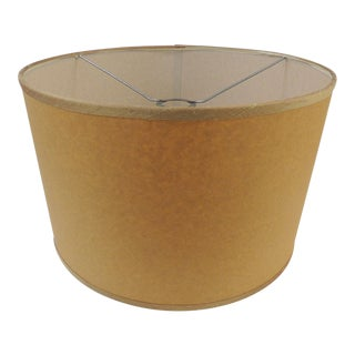 Custom Parchment Paper Round Drum Lamp Shades For Sale