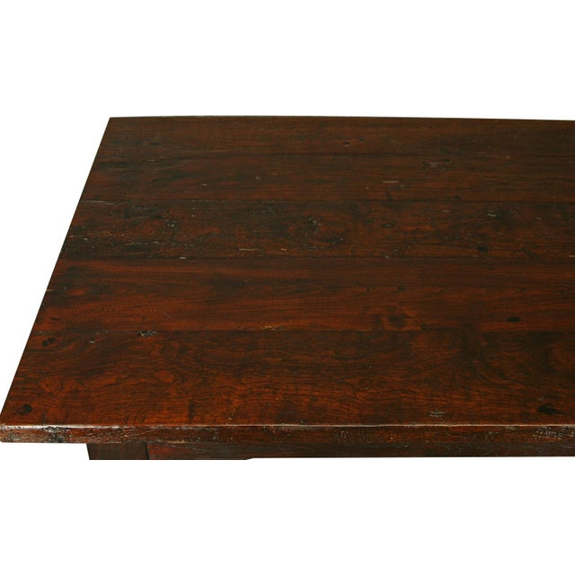 French Country Plank-Top Dining Table - Image 6 of 8