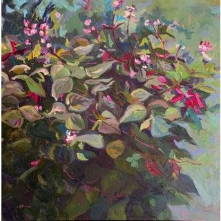 Original Oil Painting Hyacinth Vine For Sale