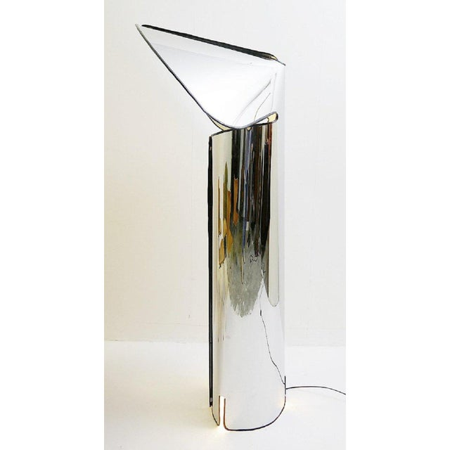 """1960s """"Chiara"""" Floor Lamp by Mario Bellini for Flos, Italy For Sale - Image 5 of 6"""