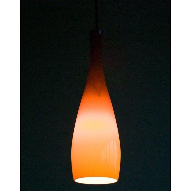 Danish 1960s Jacob Bang Glass Pendant For Sale - Image 6 of 6