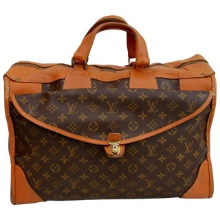 1960s Louis Vuitton Monogram Travel Bag Special Made for Saks Fifth Avenue For Sale