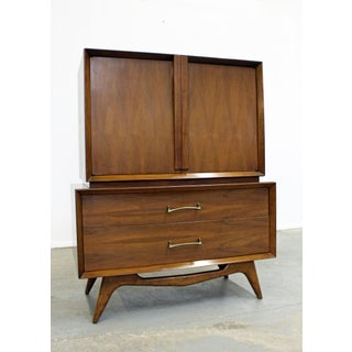 Mid-Century Danish Modern Walnut Tall Chest of Drawers/Dresser Preview