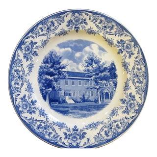 Wedgwood Kansas Shawnee Mission Transferware Centennial Plate For Sale