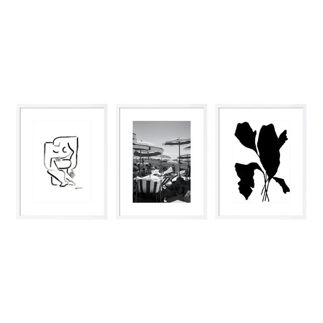 Minimalist Gallery Wall - Set of 3 For Sale