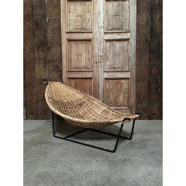 "Metal ""Duyan"" Lounge Chair by John Risley For Sale - Image 7 of 7"