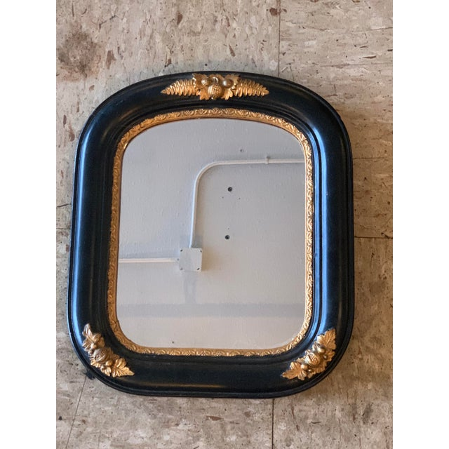 Metal Late 20th Century Acorn Wall Mirror For Sale - Image 7 of 7