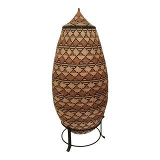 Zulu - Tribe Handwoven Basket For Sale