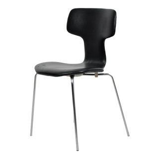 Mid-Century Modern Danish Arne Jacobsen T/ Hammer Chair by Fritz Hansen For Sale
