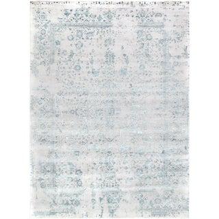 "Pasargad Silk & Wool Rug- 10' 1"" X 13' 8"""