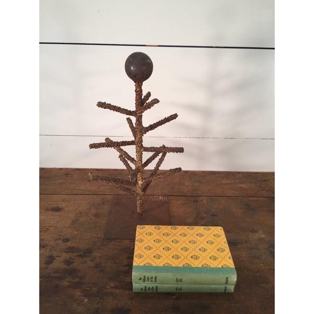 Brutalist Folk Art Tree Sculpture - Image 7 of 8
