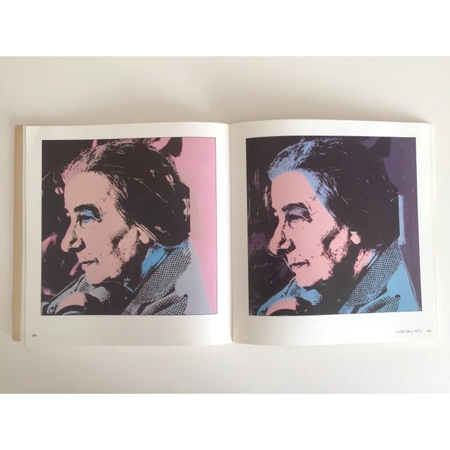 """""""Warhol Portraits of the 70's"""" Vintage 1979 Rare 1st Edition Collector's Art Book For Sale - Image 9 of 11"""