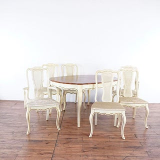 Shabby Chic Bassett Furniture Dining Set - 7 Pieces Preview